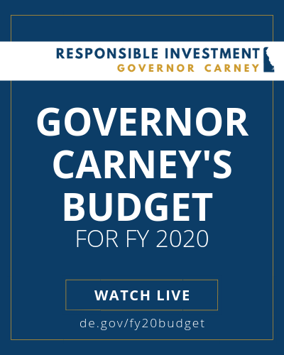 Governor Carney presents his proposed budget: January 24